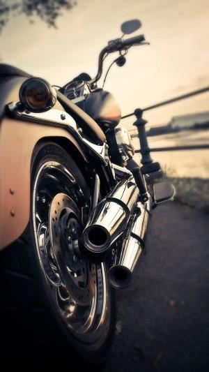 哈雷摩托车高清手机壁纸