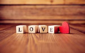 情人节爱心符号高清桌面壁纸