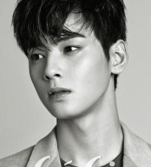韩国组合Astro黑白帅气画报写真图片