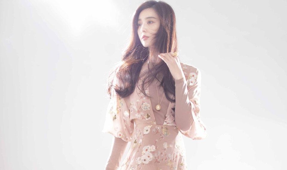 范冰冰唯美淡妆温婉可人时尚写真