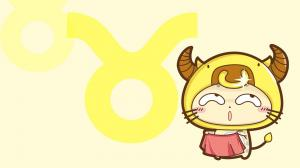 可爱卡通的CC猫十二星座图片