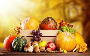 感恩节时的美食图片