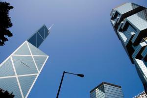 香港高楼大厦风光