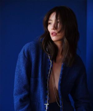 刘雯 X《T Magazine》完美身材写真