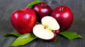 可口的红苹果诱人图片