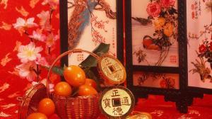 春节喜气洋洋的图片