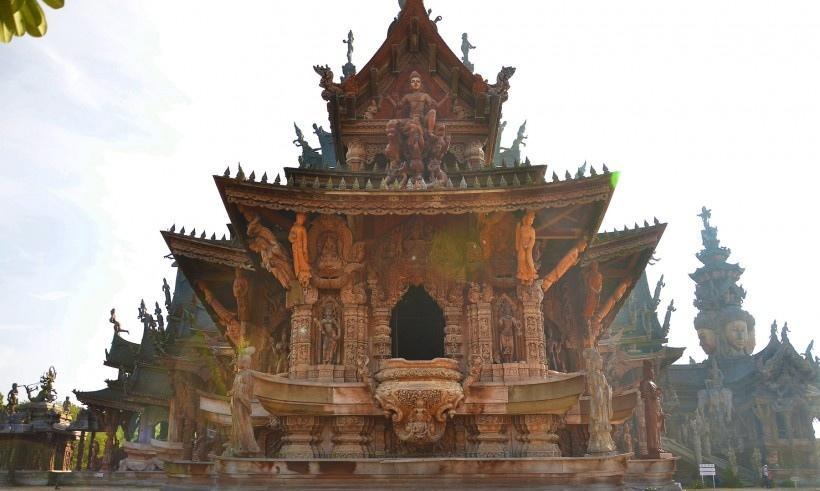 泰国真理寺风景