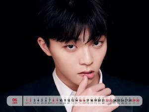 2019年6月陈立农帅气写真日历图片