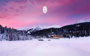 二十四节气之大雪唯美高清雪景电脑壁纸免费下载