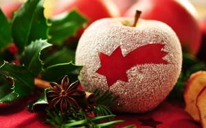 红苹果唯美意境图片