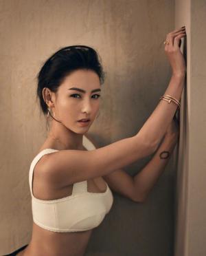 张柏芝魅力时尚杂志写真图片