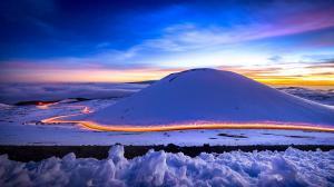 唯美凛冬雪景高清电脑壁纸