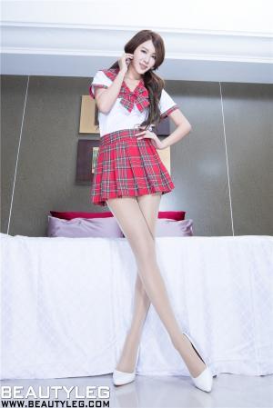腿模Miso性感美腿写真