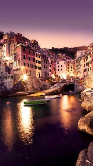 欧洲迷人的夜色