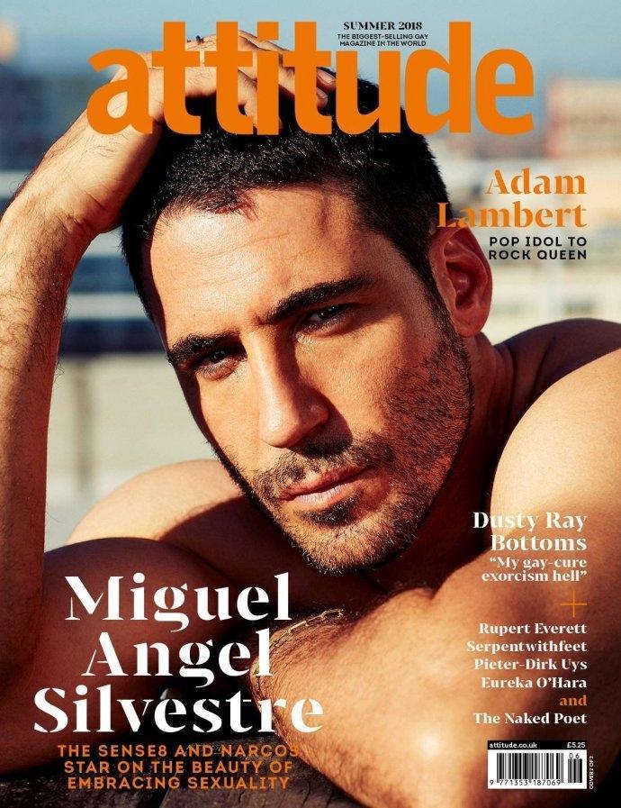 《Attitude》新刊封面故事、《Attitude》人物写真图片