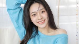 韩系清新甜美美少女