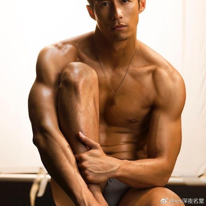 来自台湾的演员、模特Nick谢允