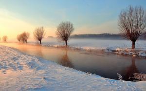 二十四节气之小雪唯美风景电脑壁纸