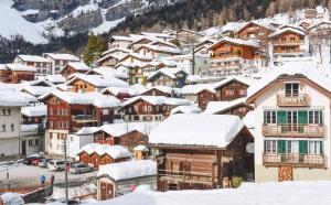 瑞士小镇风景图片