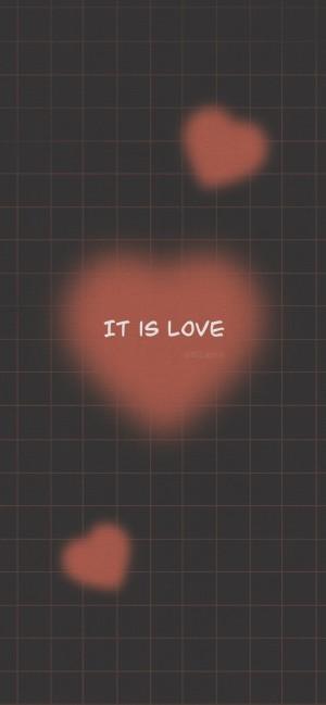 情侣主题可爱文字手机壁纸