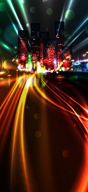 城市霓虹高清手机壁纸