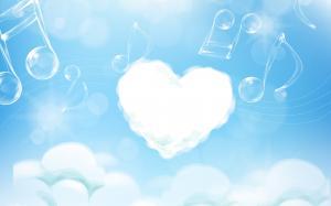 情人节各种爱心符号图片壁纸