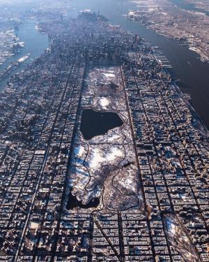 冬季的纽约