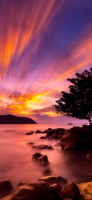 日落余晖 黄昏尽美