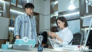佟丽娅佟大为《爱的厘米》甜蜜剧照图片