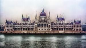 匈牙利首都布达佩斯唯美城市风景壁纸图片