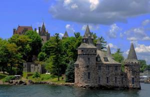 加拿大的千岛湖风景图片