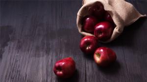 可口的苹果唯美图片