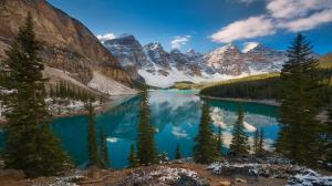 山湖风景4k壁纸