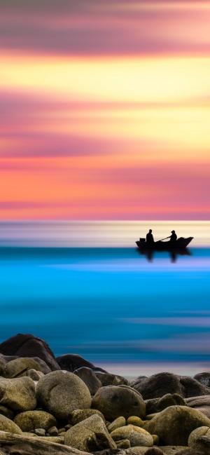 唯美夕阳自然风景手机壁纸