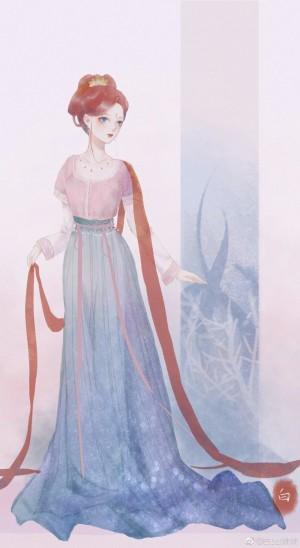 汉服的迪士尼公主