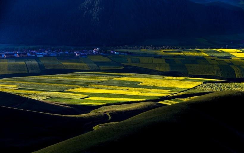 青海风景写真图片
