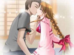 动漫男啪女漫画,动漫男生亲吻女生图