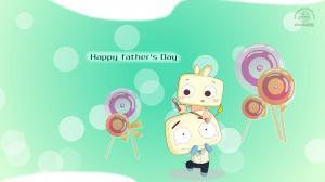 JONJON囧囧父亲节清新卡通图片