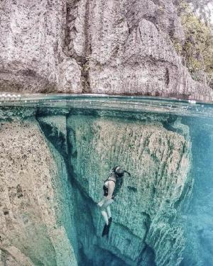 菲律宾科隆岛狼鱼湖