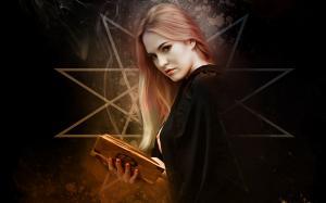 万圣节美女女巫图片