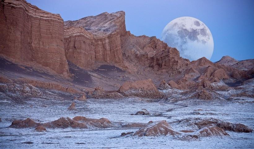 唯美的月亮风景图片