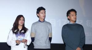 男模刘畅出席《极速前进》活动并庆祝生日
