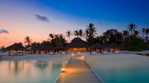 马尔代夫唯美海岛风景图片