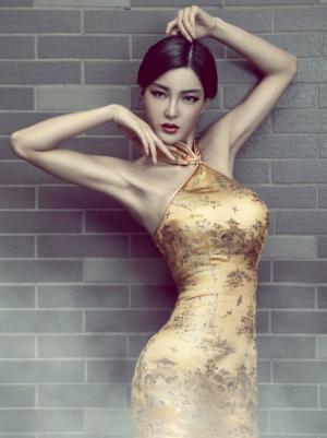 李颖芝古装优雅迷人图片
