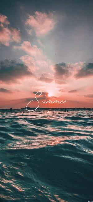 夏天唯美文字系列高清手机壁纸