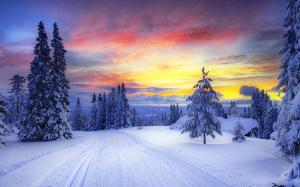 冬季自然风光壁纸桌面