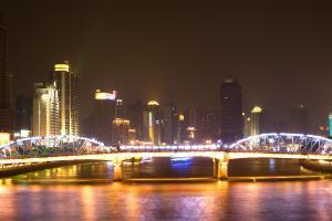 珠江夜景桌面壁纸