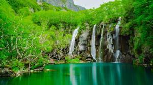 人间仙境长白山自然风光桌面壁纸