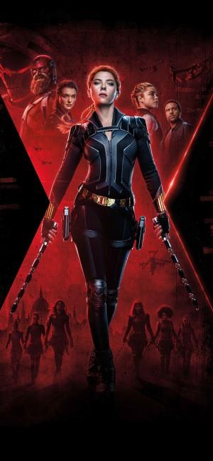 斯嘉丽·约翰逊《黑寡妇》海报图片