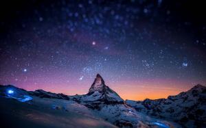 夜晚星空唯美高清图片